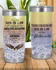 OPTION IS SOME DAYS - LOVELY GIFT FOR SON-IN-LAW 20oz Tumbler aos-20oz-tumbler-lifestyle-front-57