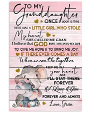 I LOVE YOU - LOVELY GIFT FOR GRANDDAUGHTER 11x17 Poster front