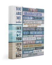 I WILL ALWAYS LOVE YOU - GRANDMA TO GRANDDAUGHTER 11x14 Gallery Wrapped Canvas Prints front