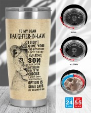 THE GIFT OF LIFE - BEST GIFT FOR DAUGHTER-IN-LAW 20oz Tumbler aos-20oz-tumbler-lifestyle-front-45