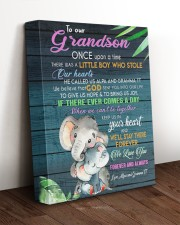 OUR HEART - GREAT GIFT FOR GRANDSON 11x14 Gallery Wrapped Canvas Prints aos-canvas-pgw-11x14-lifestyle-front-17