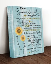 MY SUNSHINE - SPECIAL GIFT FOR GRANDDAUGHTER 11x14 Gallery Wrapped Canvas Prints aos-canvas-pgw-11x14-lifestyle-front-17