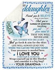 I LOVE YOU - LOVELY GIFT FOR GRANDDAUGHTER Sherpa Fleece Blanket tile