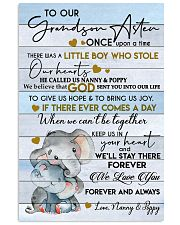 KEEP US IN YOUR HEART - GREAT GIFT FOR GRANDSON 11x17 Poster front
