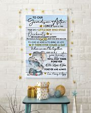 KEEP US IN YOUR HEART - GREAT GIFT FOR GRANDSON 11x17 Poster lifestyle-holiday-poster-3