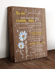 LAUGH LOVE LIVE - TO GRANDDAUGHTER FROM GRANDMA 11x14 Gallery Wrapped Canvas Prints aos-canvas-pgw-11x14-lifestyle-front-17