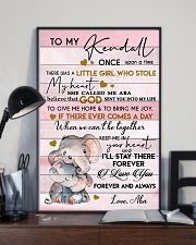 KEEP ME IN YOUR HEART - BEST GIFT FOR KENDALL 11x17 Poster lifestyle-poster-2