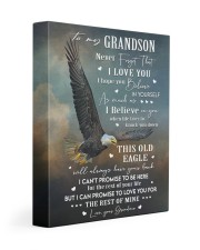 I LOVE YOU - GRANDSON GIFT WITH EAGLE 11x14 Gallery Wrapped Canvas Prints front