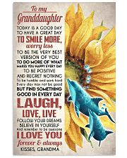 FOLLOW YOUR DREAMS - GREAT GIFT FOR GRANDDAUGHTER 11x17 Poster front