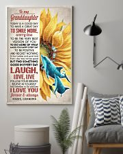FOLLOW YOUR DREAMS - GREAT GIFT FOR GRANDDAUGHTER 11x17 Poster lifestyle-poster-1