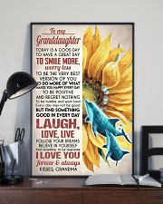 FOLLOW YOUR DREAMS - GREAT GIFT FOR GRANDDAUGHTER 11x17 Poster lifestyle-poster-2
