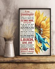 FOLLOW YOUR DREAMS - GREAT GIFT FOR GRANDDAUGHTER 11x17 Poster lifestyle-poster-3
