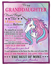 """I BELIEVE IN YOU - LOVELY GIFT FOR GRANDDAUGHTER Small Fleece Blanket - 30"""" x 40"""" front"""