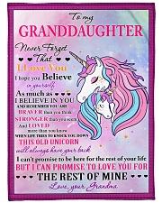 I BELIEVE IN YOU - LOVELY GIFT FOR GRANDDAUGHTER Fleece Blanket tile