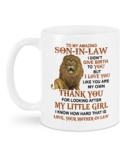 YOU ARE MY OWN - SPECIAL GIFT FOR SON-IN-LAW Mug back