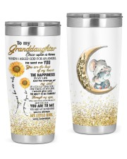 YOU ARE TO ME - GRANDDAUGHTER GIFT WITH ELEPHANT 20oz Tumbler front