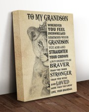 LOVED MORE THAN YOU KNOW - GRANDMA TO GRANDSON 11x14 Gallery Wrapped Canvas Prints aos-canvas-pgw-11x14-lifestyle-front-17