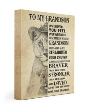 LOVED MORE THAN YOU KNOW - GRANDMA TO GRANDSON 11x14 Gallery Wrapped Canvas Prints front
