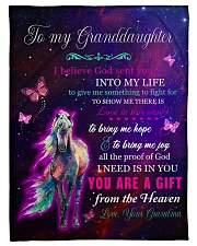 """LOVE IN THIS WORLD - GREAT GIFT FOR GRANDDAUGHTER Small Fleece Blanket - 30"""" x 40"""" front"""