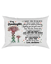 I CAN PROMISE - TO GRANDMA FROM GRANDDAUGHTER Rectangular Pillowcase front