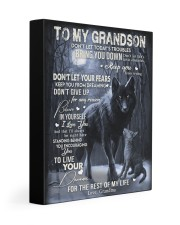 BELIEVE IN YOURSELF - SPECIAL GIFT FOR GRANDSON 11x14 Gallery Wrapped Canvas Prints front