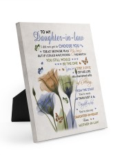 YOU'RE THE LOVE - BEST GIFT FOR DAUGHTER-IN-LAW Easel-Back Gallery Wrapped Canvas tile