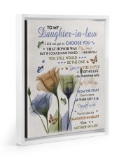 YOU'RE THE LOVE - BEST GIFT FOR DAUGHTER-IN-LAW Floating Framed Canvas Prints White tile