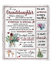 """EVERYDAY IS SPECIAL - GREAT GIFT FOR GRNADDAUGHTER Quilt 60""""x70"""" - Twin front"""