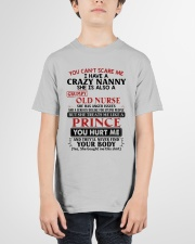 YOU CAN'T SCARE ME - PERFECT GIFT FOR NANNY Youth T-Shirt garment-youth-tshirt-front-01