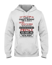 YOU CAN'T SCARE ME - PERFECT GIFT FOR NANNY Hooded Sweatshirt tile