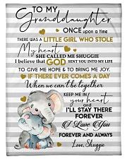 """I LOVE YOU FOREVER - LOVELY GIFT FOR GRANDDAUGHTER Small Fleece Blanket - 30"""" x 40"""" front"""