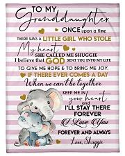 I LOVE YOU FOREVER - LOVELY GIFT FOR GRANDDAUGHTER Fleece Blanket tile
