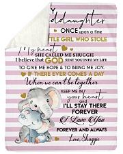 """I LOVE YOU FOREVER - LOVELY GIFT FOR GRANDDAUGHTER Large Sherpa Fleece Blanket - 60"""" x 80"""" thumbnail"""