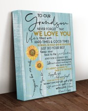 WE LOVE YOU - LOVELY GIFT FOR GRANDSON 11x14 Gallery Wrapped Canvas Prints aos-canvas-pgw-11x14-lifestyle-front-17