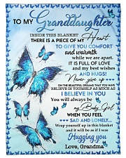 """I BELIEVE IN YOU - TO GRANDDAUGHTER FROM GRANDMA Small Fleece Blanket - 30"""" x 40"""" front"""