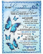 I BELIEVE IN YOU - TO GRANDDAUGHTER FROM GRANDMA Fleece Blanket tile