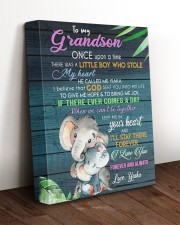 I LOVE YOU - LOVELY GIFT FOR GRANDSON 11x14 Gallery Wrapped Canvas Prints aos-canvas-pgw-11x14-lifestyle-front-17
