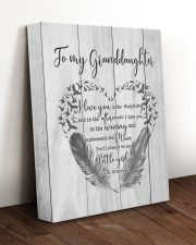SPECIAL CANVAS FOR YOUR GRANDDAUGHTER 11x14 Gallery Wrapped Canvas Prints aos-canvas-pgw-11x14-lifestyle-front-17