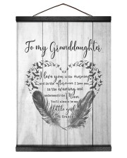 SPECIAL CANVAS FOR YOUR GRANDDAUGHTER Hanging Canvas tile