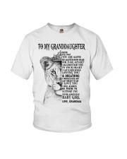 I LOVE YOU - LOVELY GIFT FOR GRANDDAUGHTER Youth T-Shirt tile