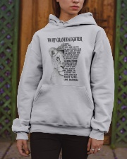 I LOVE YOU - LOVELY GIFT FOR GRANDDAUGHTER Hooded Sweatshirt apparel-hooded-sweatshirt-lifestyle-front-03