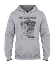 I LOVE YOU - LOVELY GIFT FOR GRANDDAUGHTER Hooded Sweatshirt front