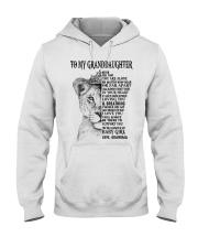 I LOVE YOU - LOVELY GIFT FOR GRANDDAUGHTER Hooded Sweatshirt tile