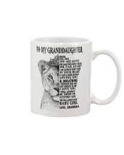 I LOVE YOU - LOVELY GIFT FOR GRANDDAUGHTER Mug tile