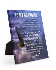 ALWAYS BELIEVE IN YOURSELF - GIFT FOR GRANDSON 8x10 Easel-Back Gallery Wrapped Canvas thumbnail