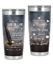 THANKS FOR BEING MY SON-IN-LAW  20oz Tumbler front