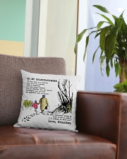 1 DAY LEFT - GET YOURS NOW Square Pillowcase aos-pillow-square-front-lifestyle-03