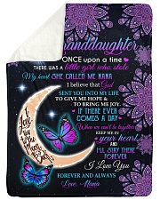 "ONCE UPON A TIME - TO NANA FROM GRANDDAUGHTER Large Sherpa Fleece Blanket - 60"" x 80"" thumbnail"