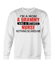 AND A RETIRED - PERFECT GIFT FOR NURSE  Crewneck Sweatshirt tile