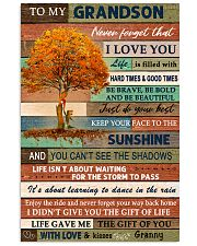 THE GIFT OF YOU - GREAT GIFT FOR GRANDSON 11x17 Poster front